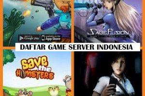 GAME ONLINE SERVER INDONESIA