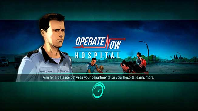 Operate Now: Build your own hospital